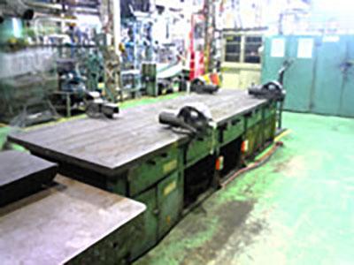 工場作業台天板取替