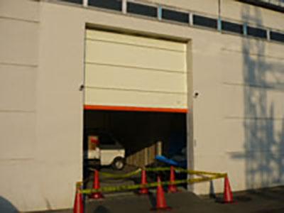 倉庫シートシャッター新設