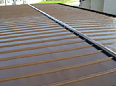 ハイツ瓦棒葺き屋根塗装
