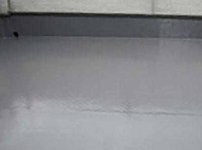 ベランダ塗膜防水脱気工法