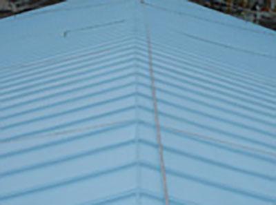 瓦棒屋根遮熱塗装