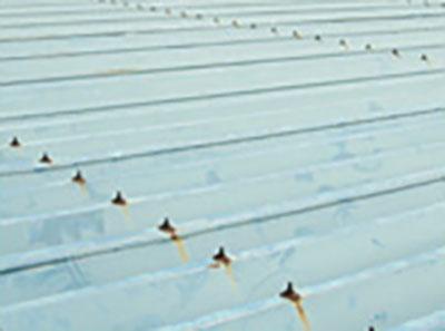 倉庫折板屋根長期保護防食塗装